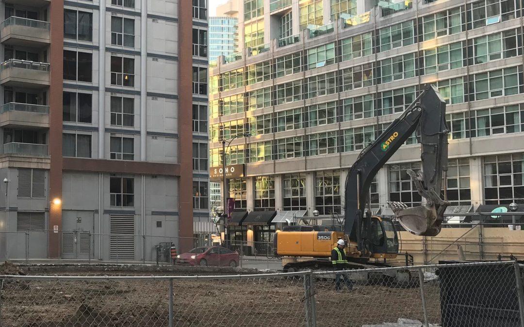 Construction Update #1 – January/February 2021