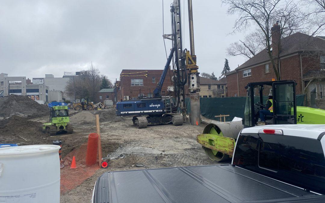 Construction Update (April 16)